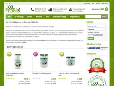 ScreenShot 100ProBio Shop
