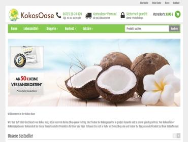 ScreenShot KokosOase Shop