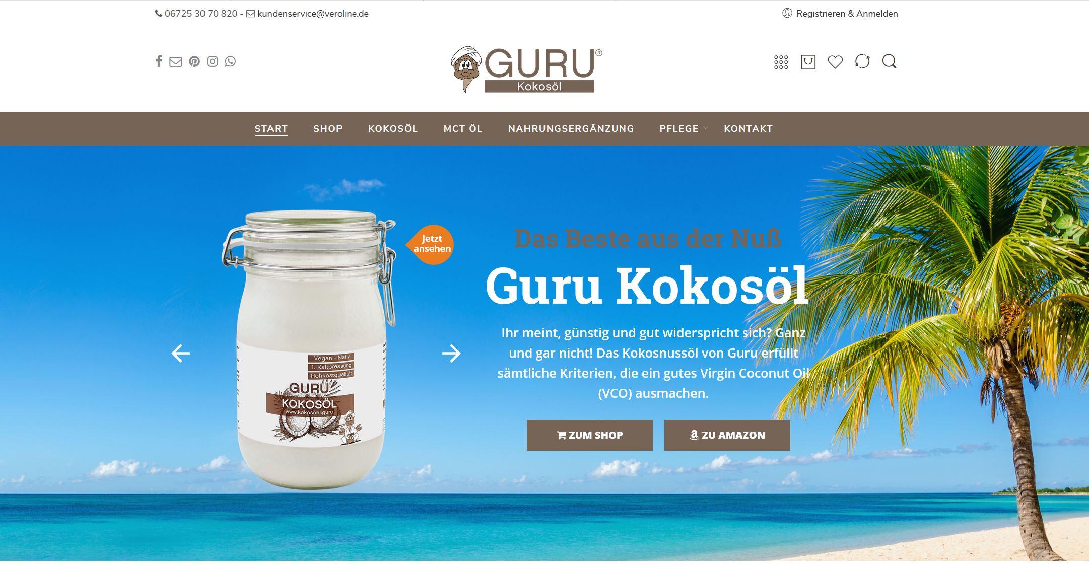 Guru Bio Kokosöl